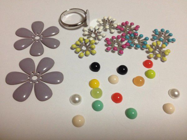 11 flower ring parts
