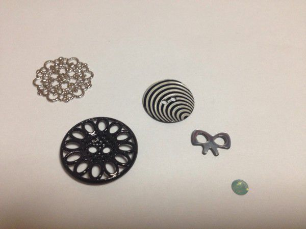 12 button metalparts